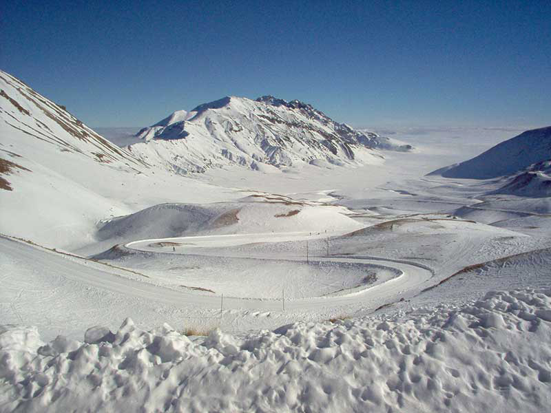 The thousand paths of the mountains of Abruzzo